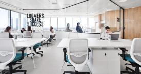 Un espacio de 'coworking' de Loom, filial de Merlin, en Madrid / EUROPA PRESS