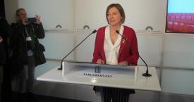 Carme Forcadell, expresidenta del Parlamento catalán / EUROPA PRESS