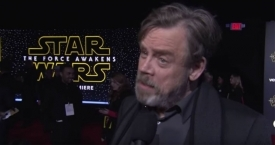 El actor Mark Hamill, Luke Skywalker en Star Wars