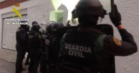 Agentes de la Guardia Civil durante la operación 'Caribe' / GUARDIA CIVIL