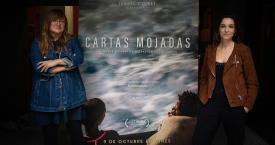 Isabel Coixet y Paula Palacios, productora y directora respectivamente del documental 'Cartas Mojadas' / EUROPA PRESS