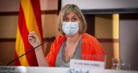 Alba Vergés, Consejera de Salud / EUROPA PRESS
