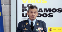 El jefe del Estado Mayor de la Defensa ( JEMAD) , el general Miguel Ángel Villarroya / EFE