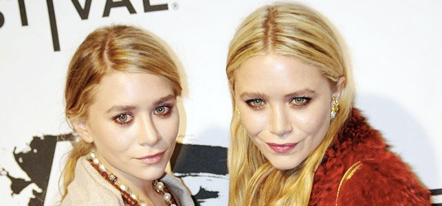 Ashley y Mary-Kate Olsen en el festival de cine de Tribeca en 2011