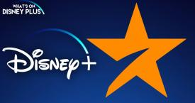 Logo de Disney+ Star