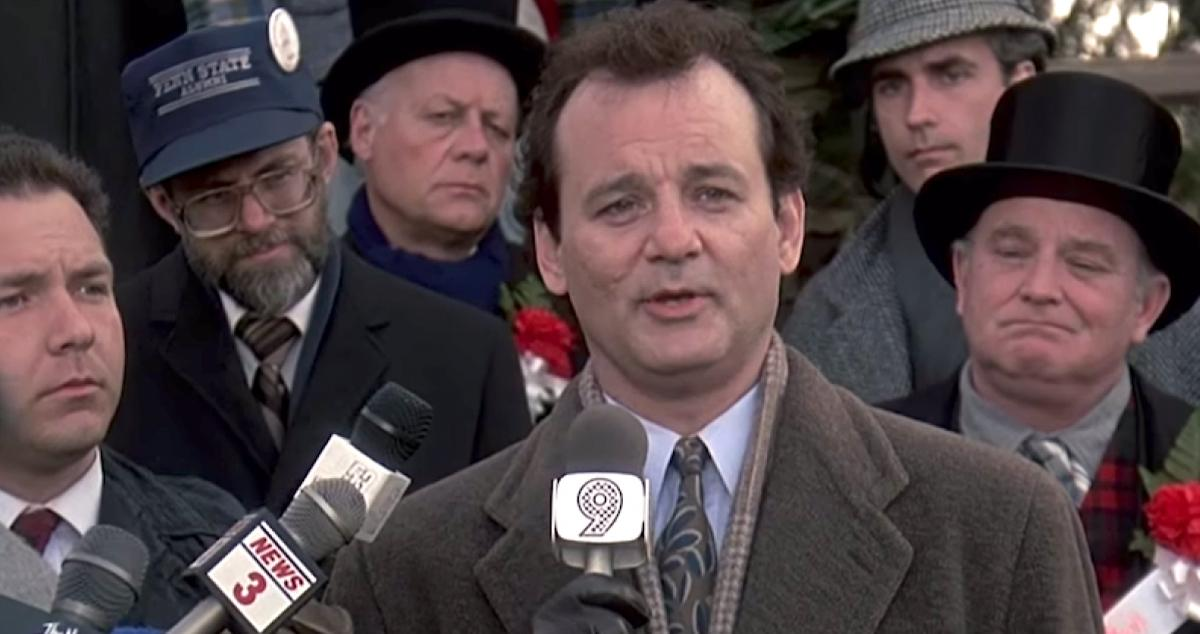 Image from the film ´Groundhog Day´ by Bill Murray / LA TERCERA