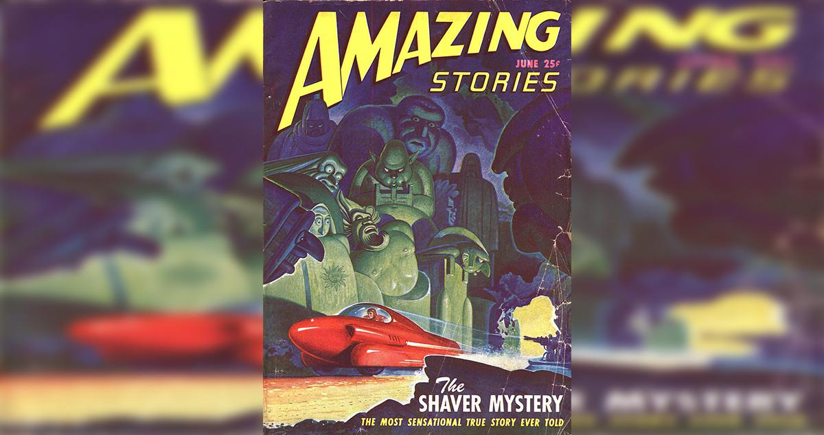 Portada de la revista Amazing Stories en 1947 / WIKIPEDIA