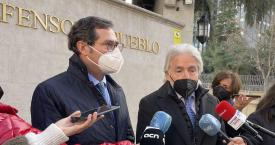 El presidente de CEOE, Antonio Garamendi, junto el vicepresidente de CEOE y presidente de Foment del Treball, Josep Sánchez-Llibre / CG