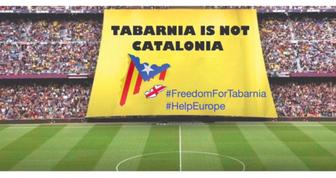 tabarnia is not catalonia