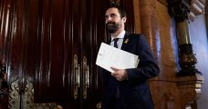 El presidente del Parlament, Roger Torrent / EFE