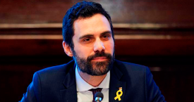 Roger Torrent, presidente del Parlament / EFE