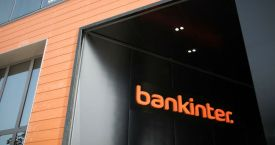Un edificio de Bankinter en Madrid