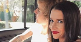 Justin Bieber con su madre, Pattie Mallete / CD