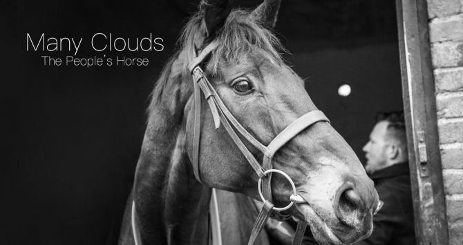 Cartel del documental 'Many Clouds - The People's Horse'