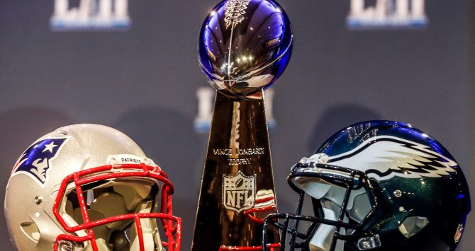 New England Patriots o Philadelphia Eagles
