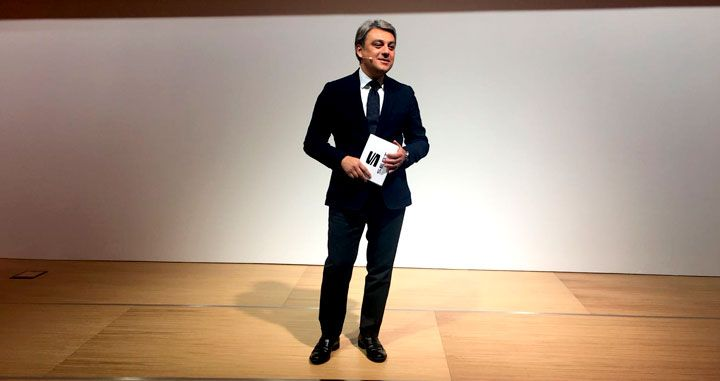 Luca de Meo, presidente de Seat, en el Mobile World Congress de Barcelona / CG