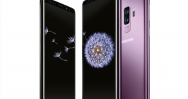 Una foto del nuevo Samsung Galaxy s9 y s9+ disponible en Amazon