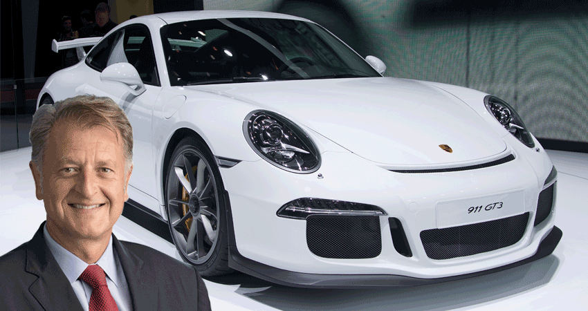 El responsable de Ventas y Marketing de Porsche, Detlev von Platen