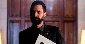 El presidente del Parlament de Cataluña, Roger Torrent / EFE