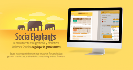 Captura de la web Social Elephants / CG