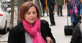 Carme Forcadell, expresidenta del Parlament / EFE