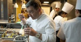 Joan Roca, chef del Celler de Can Roca, restaurante con tres estrellas Michelin
