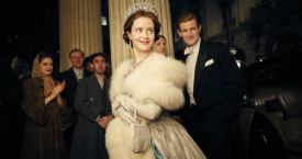 Claire Foy y Matt Smith en 'The Crown' / NETFLIX
