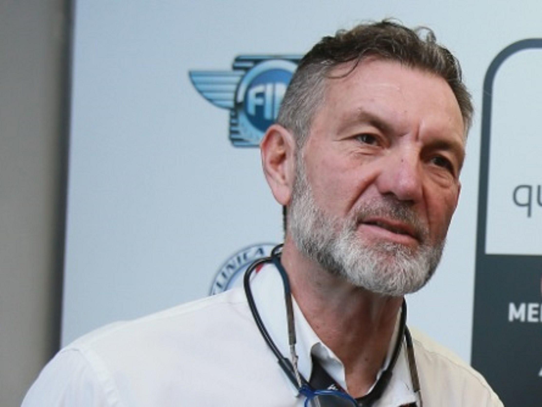 Ángel Charte, doctor jefe en el Mundial de motocilismo y en Quirónsalud