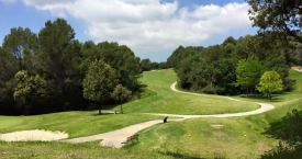Aspecto de campo de golf de Can Sant Joan / GOLF CAN SANT JOAN