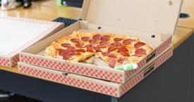 Una caja de pizza /Creative Commons