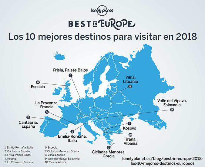 Best in Europe 2018 / LONELY PLANET