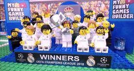 Versión LEGO del Real Madrid / MY FUNNY GAMES BUILDER