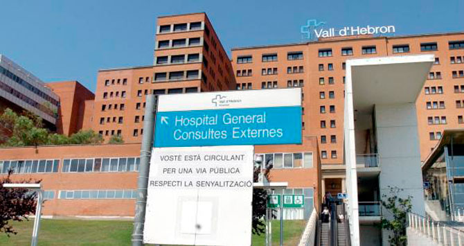 Vista del Hospital Universitari Vall d'Hebron de Barcelona, que transformará su campus / CG