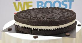 La galleta Oreo que ha entrado en el libro Guiness de los records / GUINNESS WORLD RECORDS