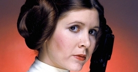 Carrie Fisher interpretó a la princesa Leia en los films de 'Star Wars' / FACEBOOK