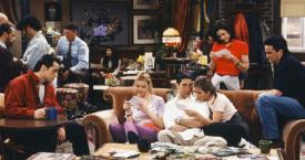 Los protagonistas de 'Friends' en Central Perk / FRIENDS