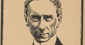Bertrand Russell, by J. F. Horrabin