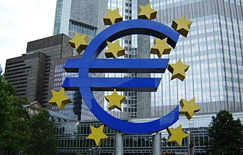 Sede del Banco Central Europeo (BCE), en Francfort
