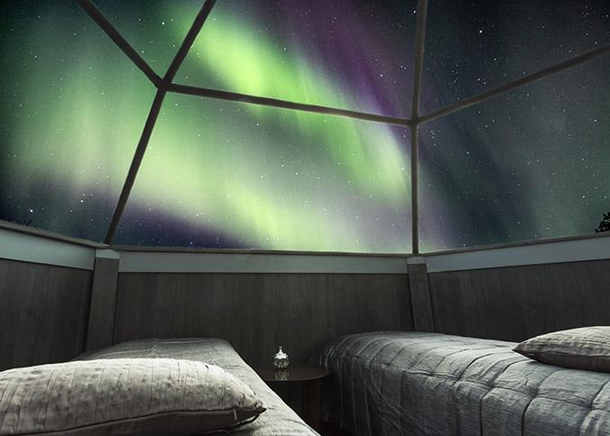 Arctic Glass Igloos en Sinetta (Finlandia) / BOOKING