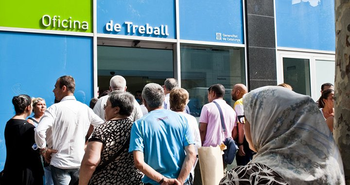 El inem catal n desprivatiza las pol ticas de empleo for Oficina de treball del soc