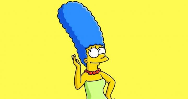 Marge Simpson.