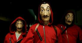'Escape room' de 'La Casa de Papel' / FEVER ORIGINALS - ATRESMEDIA