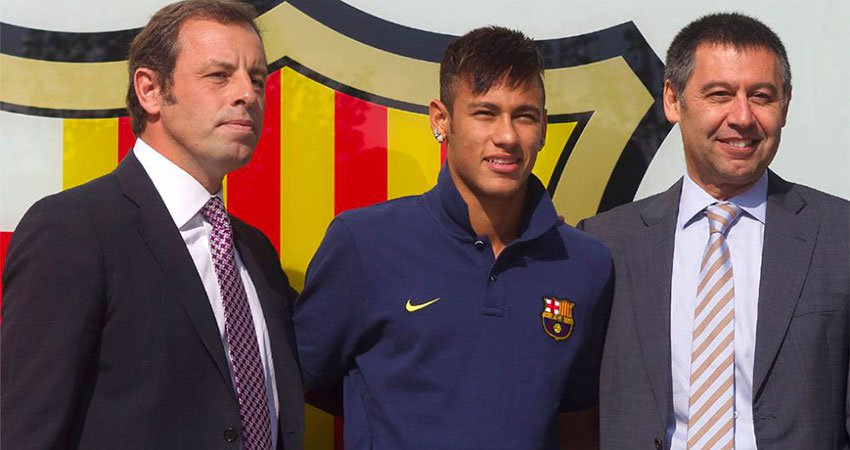 Image result for Josep Bartomeu with Sandro Rosell