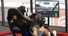 Piloto de North World Sim eSports participando en las 24H SimRacing / CIRCUIT DE BARCELONA-CATALUNYA