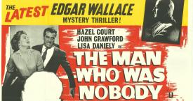 Literatura mercenaria: Película en inglés basada en 'The Man Who Was Nobody', de Edgar Wallace