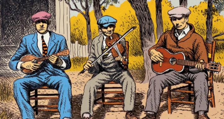 Músicos de blues /ROBERT CRUMB
