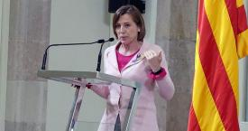 La expresidenta del Parlament Carme Forcadell / EUROPA PRESS