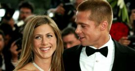 Brad Pitt y Jennifer Aniston en los Emmy Awards de 2004 / Gtres