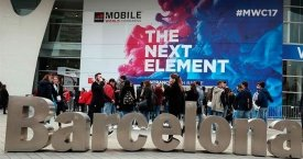 Asistentes al Mobile World Congress en Barcelona / EFE