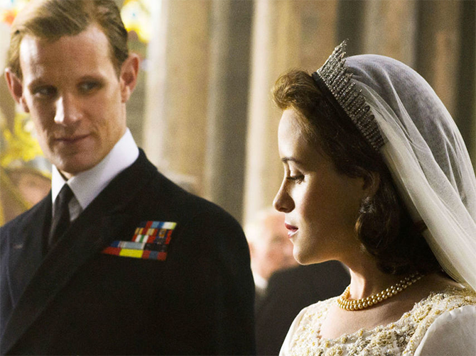 La serie The Crown